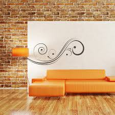 abstract wall abstract swirl wall decal removable wall stickers and wall decals