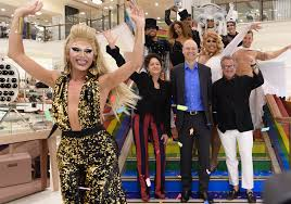 mardi gras fashion myer signs three year partnership with mardi gras as the exclusive