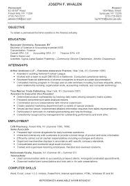 sample student resume for internship sample undergraduate resume