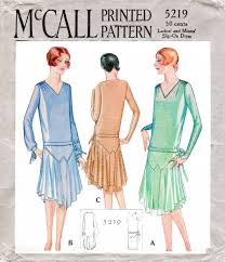 1920s flapper cocktail evening dress vintage sewing pattern u2013 lady