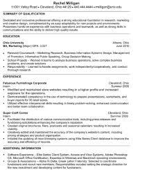 Sample Internship Resume For College Students by Resume Samples For Internship College Students 100 Resume Samples
