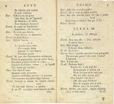 le si e d al ia cosi fan tutte printed libretto january 1790 lorenzo da ponte