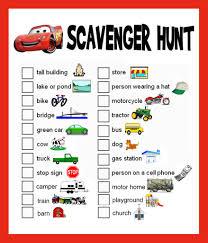 Backyard Scavenger Hunt Ideas Road Trip Help Please Page 6 The Dis Disney Discussion Forums