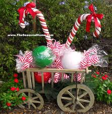 Best Christmas Outdoor Decor Images On Pinterest Christmas - Outside home decor ideas