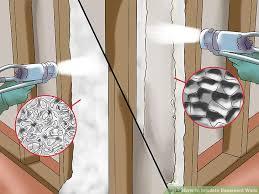 3 ways to insulate basement walls wikihow
