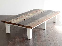 wood plank coffee table brilliant wood plank coffee table inspirational at top