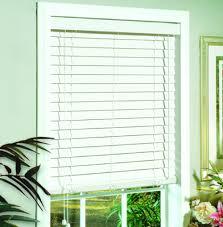 white 2 in faux wood window blind hyman inc