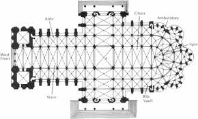 gothic cathedral floor plan the flying buttress