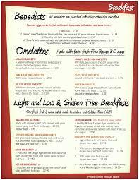 menu for brunch breakfast brunch s cosmic cafe