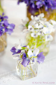Small Square Vases Tiny Tea Party Flowers Delecteable