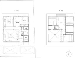 Building Ground Floor Plan by Veiled Transparency Residential Building By Fumihiko Sano