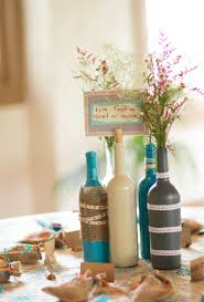 themed wedding decorations 7 wine bottle centerpieces you can diy for your wedding day