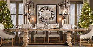 restoration hardware dining rooms contemporary dining room with restoration hardware salvaged wood