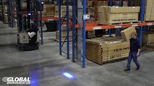 blue warning lights on forklifts global industrial forklift blue led safety warning light 988717