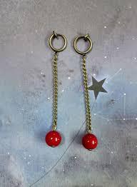 jojo earrings jojo s adventure kakyoin noriaki earrings 1 pair for non