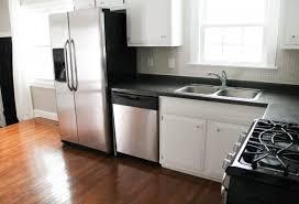 Small Remodeled Kitchens - kitchen attic apartment ideas design small kitchen interior of