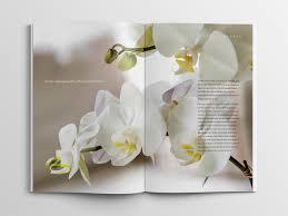 flower shop magazine u2013catalog u2013brochure granite bay design