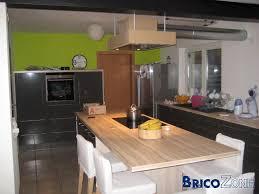 cuisine basse prise pour ilot central cuisine 7 table haute ou basse kirafes