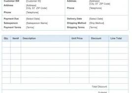 sample of contractor invoice and free construction invoice