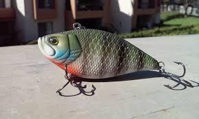 lipless crankbait bluegill color on the lipless crankbait hard baits