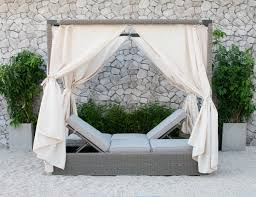 outdoor canopy bed marin outdoor canopy sunbed