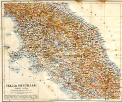 Map Italy by Map Of Central Italy Deboomfotografie