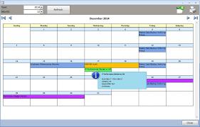 ms access task scheduler event calendar carda consultants inc