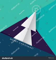 merry christmas modern contemporary greeting card stock vector