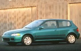 used 1993 honda civic hatchback pricing for sale edmunds