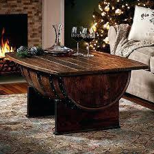 whiskey barrel table for sale whiskey barrel table whiskey barrel furniture handmade vintage oak