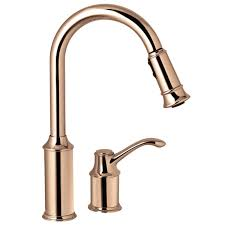 moen copper kitchen faucet moen copper kitchen faucet moen 7590cpr aberdeen copper pullout