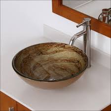 Rectangular Drop In Bathroom Sink by Kitchen Room Wonderful Small Vessel Sinks Glass Vessel Sinks