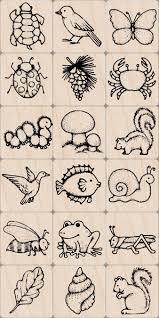 amazon com hero arts ink and stamp set nature