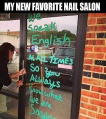 Salon Meme - nail salon humor funny online pictures