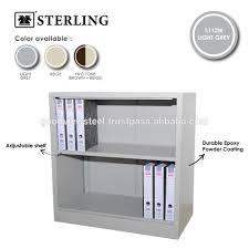 Metal Adjustable Shelving Half Height Cupboard Without Door C W 1 Adjustable Shelf Buy