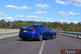 sporty lexus blue lexus is review 2016 lexus is 200t