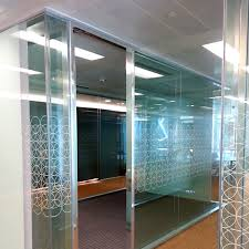 Glass Dividers Interior Design by Office Furniture U0026 Glass Partitions Qatart Holding