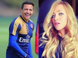 alexis sanchez wife players girlfriend chilean footballer alexis sánchez and his
