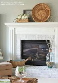 Whitewashing A Fireplace by How To Whitewash Brick Sand And Sisal