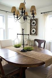 kitchen table decor ideas rustic centerpiece for dining table creative of rustic dining table