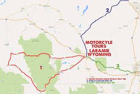 Wyoming Road Map Motorcycle Tours Near Laramie Wyoming Laramie That U0027s Wyoming