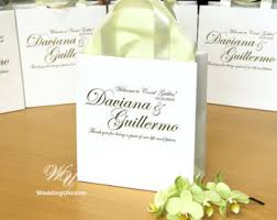 welcome to our wedding bags welcome to our wedding gift tote bag for out of town guests