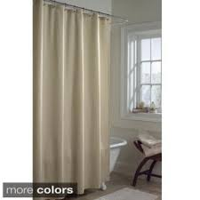 Machine Washable Shower Curtain Mildew Free Water Repellent Fabric Shower Curtain Liner Free