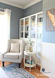 Ikea Accent Chairs by Best Blue Gray Paint Colour Benjamin Moore Sea Pine Stonybrook