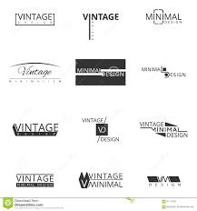 brand logo design minimal modern logo design for brand stock vector image 61114221