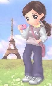 lovely white anime galleries dot net kawaii pics lovely white in paris pics