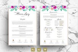 Infographic Style Resume The Best Cv U0026 Resume Templates 50 Examples U2026 U2013 Web Emailing