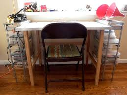 Build A Work Table How To Build An Easy Work Table Stretchers Of Late Work Table