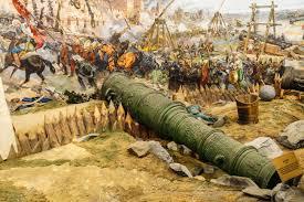 siege canon canon de siège énorme utilisé dans l assaut et la chute de