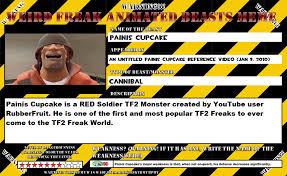 Cupcake Memes - weird freak animated beast meme 2 painis cupcake by terryrule17